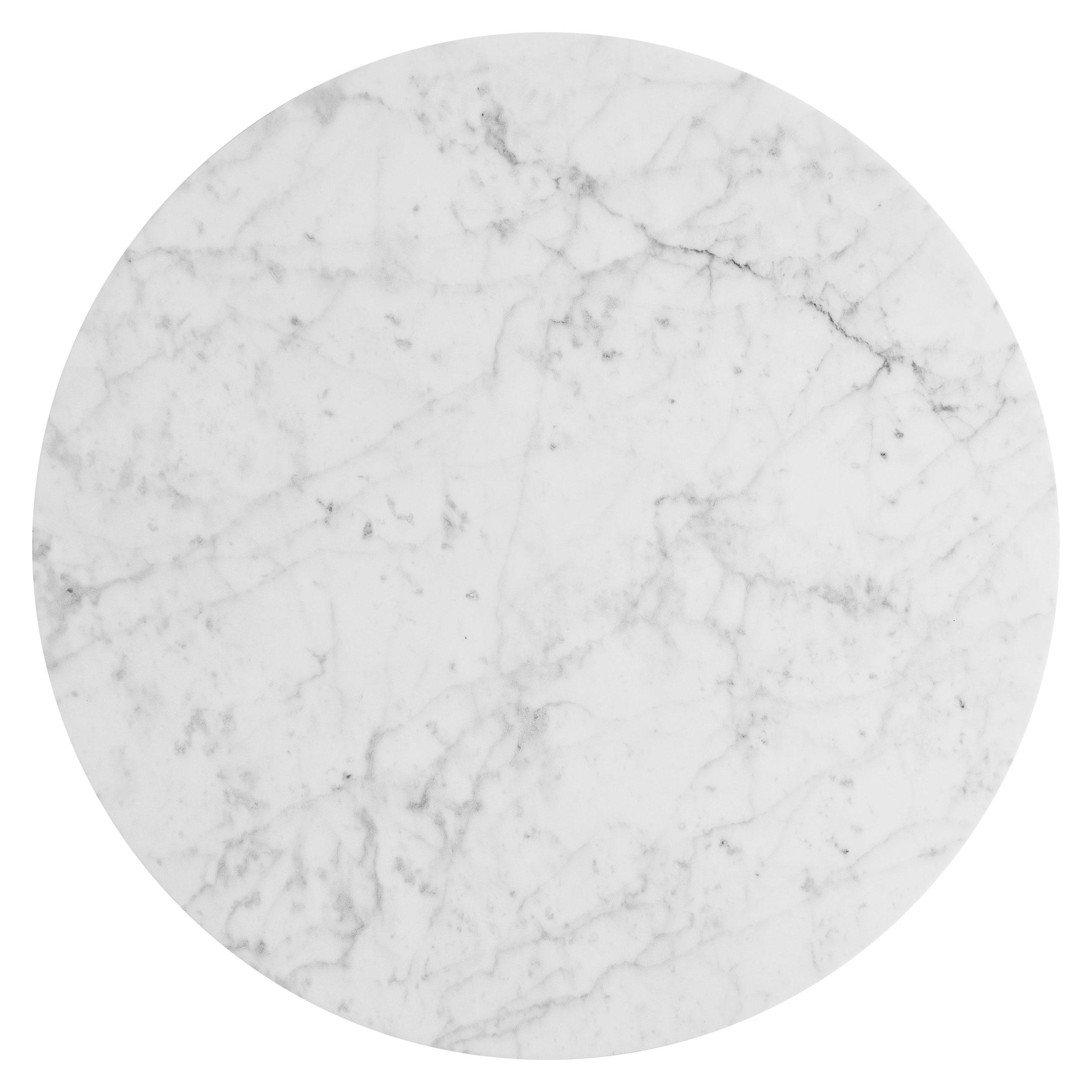 Tavolo In Marmo Bianco.Caxus Tavolino Da Caffe In Marmo 100 Cm Federico Sigali Design